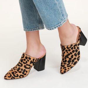 Steven by Steve madden leopard slip on booties